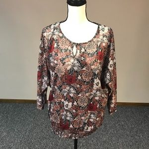 Maurices Double layered Top Size XL